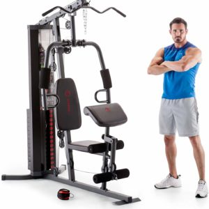 #6- Marcy 150-lb Multifunctional Home Gym Station Bench