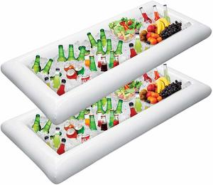 6. Jasonwell 2 PCS Inflatable Serving Bars Ice Buffet Salad