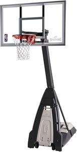 #6. Spalding The Beast Glass Portable Basketball Hoop