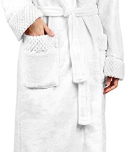 #7- Deluxe Women Fleece Robe