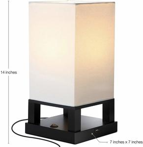 7. Brightech Maxwell - Bedroom Nightstand Lamp