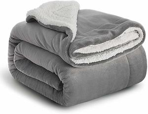 #8- BEDSURE Sherpa Fleece Plush Soft Blanket