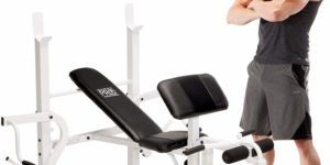#8- Marcy Diamond Elite Classic Multipurpose Workout Lifting Weight Bench