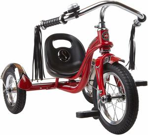 #8 - Schwinn Roadster Tricycle with Classic Bicycle Bell and Handlebar Tassels