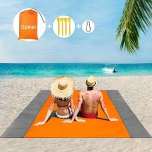 8. ISOPHO Outdoor Beach Blanket