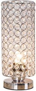 8. ZEEFO Crystal Table Lamp