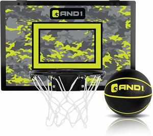 #9 AND1 Over The Door Mini Portable Basketball Hoop