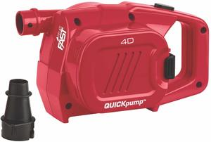 9- Coleman 4 D Battery QuickPump