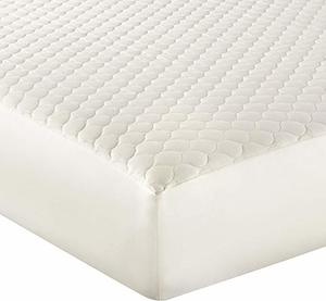 #9- Whisper Organics 100% Organic Cotton Quilted Mattress Cover
