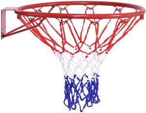 #9. Goplus Basketball Rim, Basketball Net