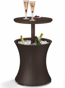 9. Keter 218305 Outdoor Patio Table with 7.5 Gallon Beer Cooler