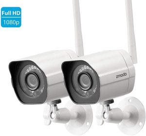#1 Zmodo Wireless Security Camera System HD