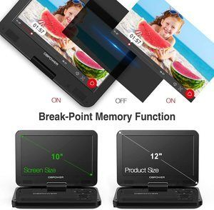 1. DBPOWER 1 Portable DVD Player