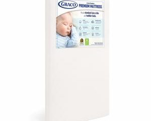 1. Graco Crib and Toddler Mattress