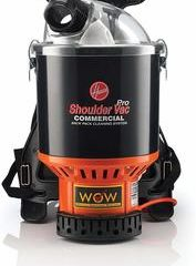1. Hoover Commercial Lightweight Backpack Vacuum, C2401