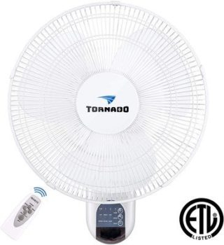 1. Tornado fan Wall-Mount Fans
