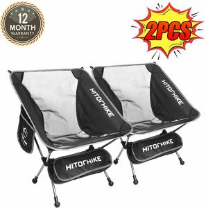 10. Hitorhike Camping Chair with Breathable Mesh Construction