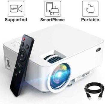 10. HomPow Mini Projectors