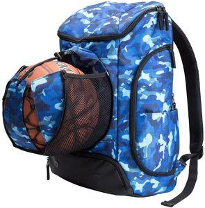 10. Kuangmi Basketball Backpack