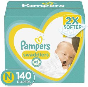10. Pampers Swaddlers Disposable Baby Diapers