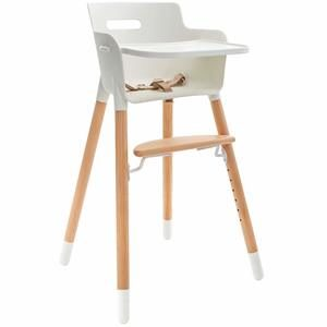 10. WeeSprout Wooden High Chair for Babies & Toddlers