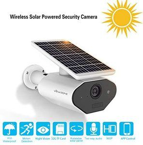 #11 ViewZone Solar Powered Security Camera L4