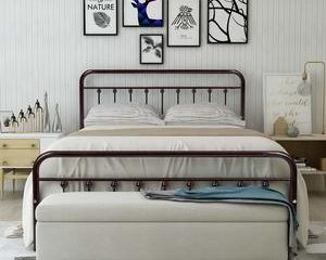 11. HOMERECOMMEND Metal Bed Frame