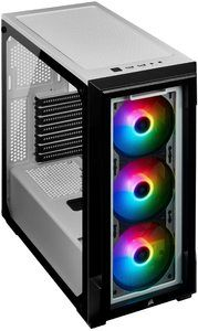 15. Corsair iCUE 220T Tempered Glass Mid-Tower Smart Case
