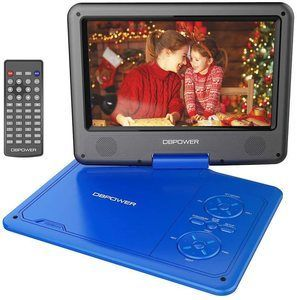 2. DBPOWER 11.5 Portable DVD Player