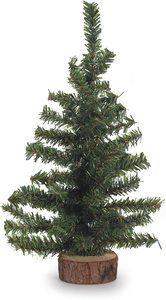 2. Darice Canadian Pine Tree with Wood Base