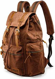 2. GEARONIC TM Men 21L Vintage Canvas