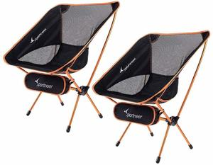 2. Portable Ultralight Folding Camp Chair by Sportneer