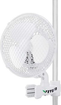 2. VIVOSUN Tent Pole Fan - Wall-Mount Fan