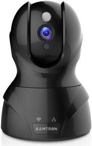 #3 Security Camera WiFi IP Camera - KAMTRON HD Home Wireless Baby