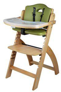 3. Abiie Beyond Wooden High Chair