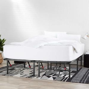 3. AmazonBasics Foldable Metal Platform Bed Frame