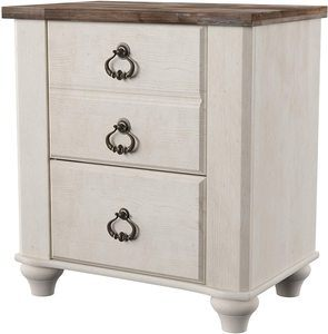 3. Ashley Furniture Signature Design - Willowton Nightstand
