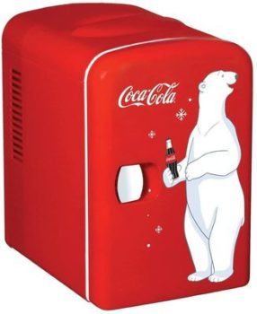 3. Coca-Cola Mini Freezers