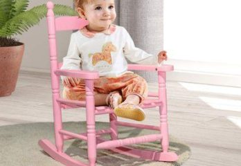 3. Costzon Rocking Chair for Kids