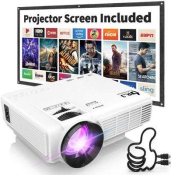3. Dr. J Professional - Best Mini Projectors