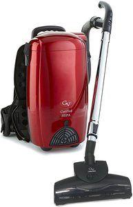 3. GV 8 Qt Light Powerful Backpack Vacuum Loaded