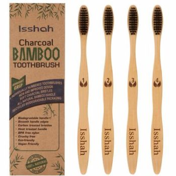 3. Isshah Charcoal Toothbrush