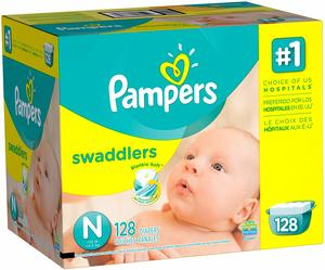3. Pampers Swadlers