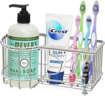3. Simple Houseware Toothbrush Holder