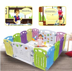 4. Baby Playpen Kids Activity Centre Safety Play Yard Home
