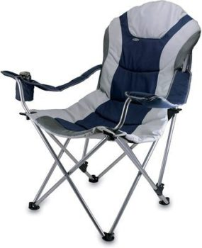 4. Graphic Image Reclining Camp Chair