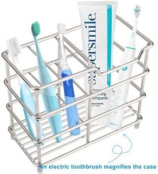4. I & HE Toothbrush Holders