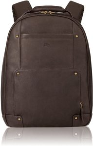 4. Solo Reade Vintage Leather Backpack