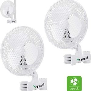 4. VIVOSUN Wall Mount Fan