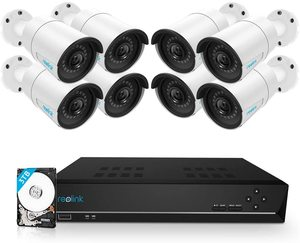 #5 Reolink 16CH 5MP PoE Security Camera System